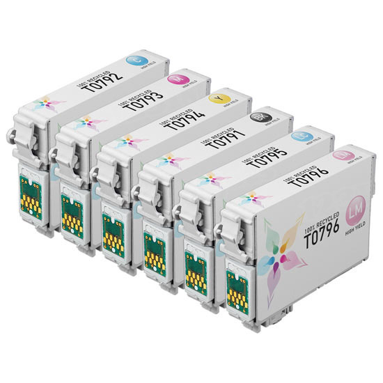 Remanufactured T079 6 Pack for Epson