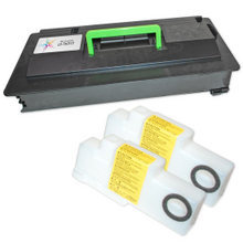 Compatible Kyocera-Mita TK-717 (1T02GR0US0) Black Laser Toner Cartridges for the KM-5050, KM-4050, KM-3050