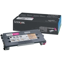 Lexmark OEM High Yield Magenta Laser Toner Cartridge, C500H2MG (X500/X502/C500 Series) (3K Page Yield)
