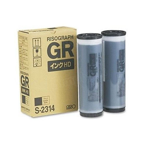 Risograph S-2314 Black OEM Ink Cartridge 2PK