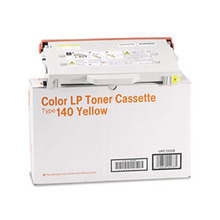 OEM Ricoh 402073 Yellow Laser Toner Cartridge, Type 140