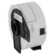 Compatible Brother DK-1204 White Label  - 0.66 in x 2.1 in 400 Sheets