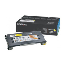 Lexmark OEM Yellow Laser Toner Cartridge, C500S2YG (X500/X502/C500 Series) (1.5K Page Yield)
