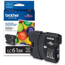 Brother LC61BK Black OEM Ink Cartridge