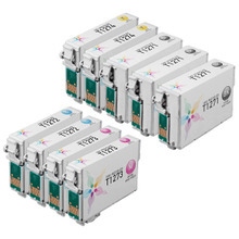 Remanufactured 9 Pack for Epson 127: 3 Black & 2 each of Cyan, Magenta, Yellow