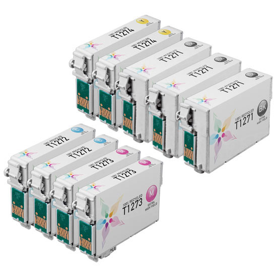 Remanufactured 127 9 Pack for Epson