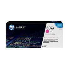 HP 307A (CE743A) Magenta Original Toner Cartridge in Retail Packaging