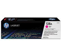 HP 128A (CE323A) Magenta Original Toner Cartridge in Retail Packaging