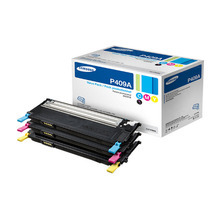 OEM Samsung CLT-P409A Tri-Color Laser Toner Cartridge 3K Page Yield