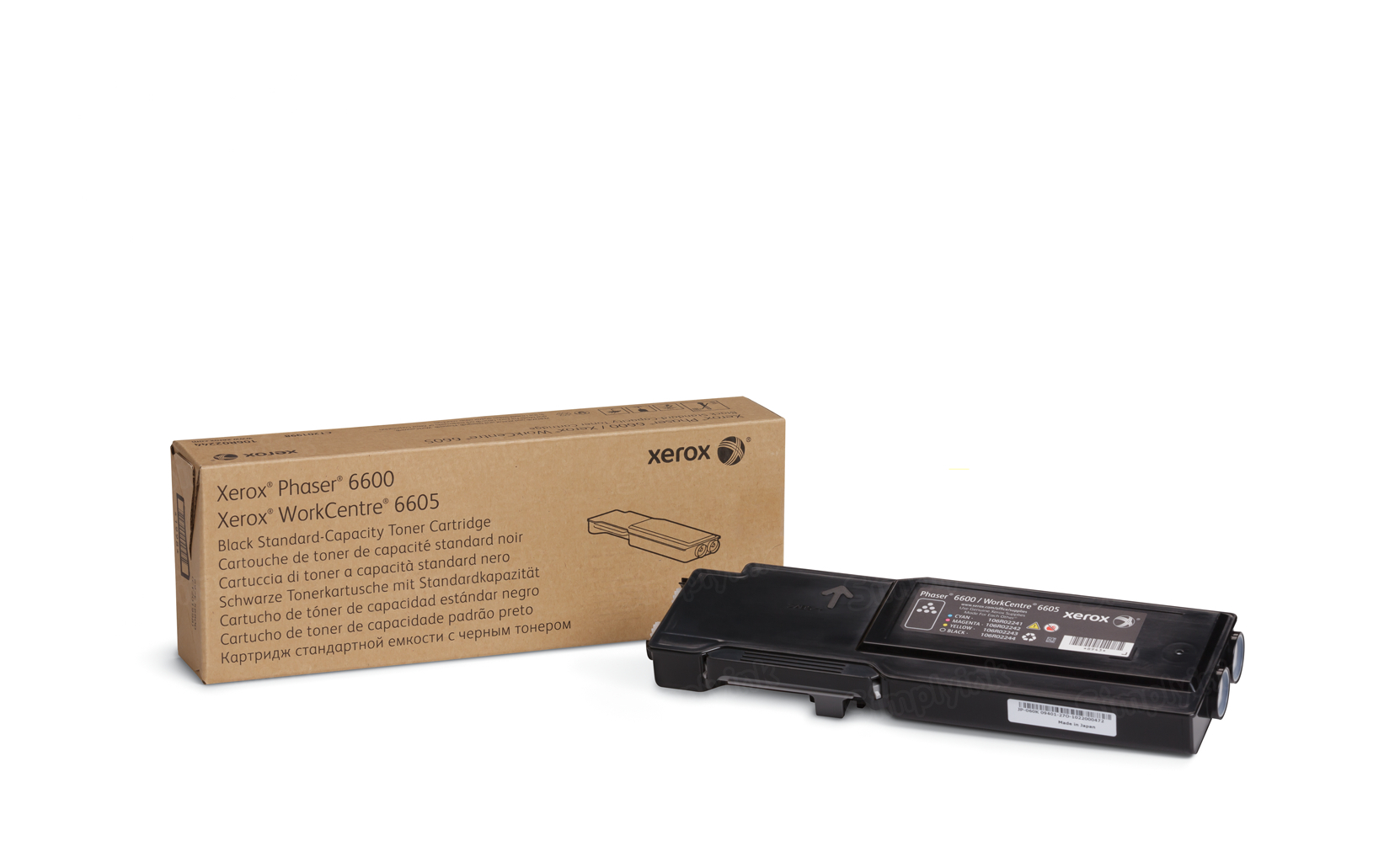 Xerox 106R02244 (106R2244) Black OEM Toner Cartridge