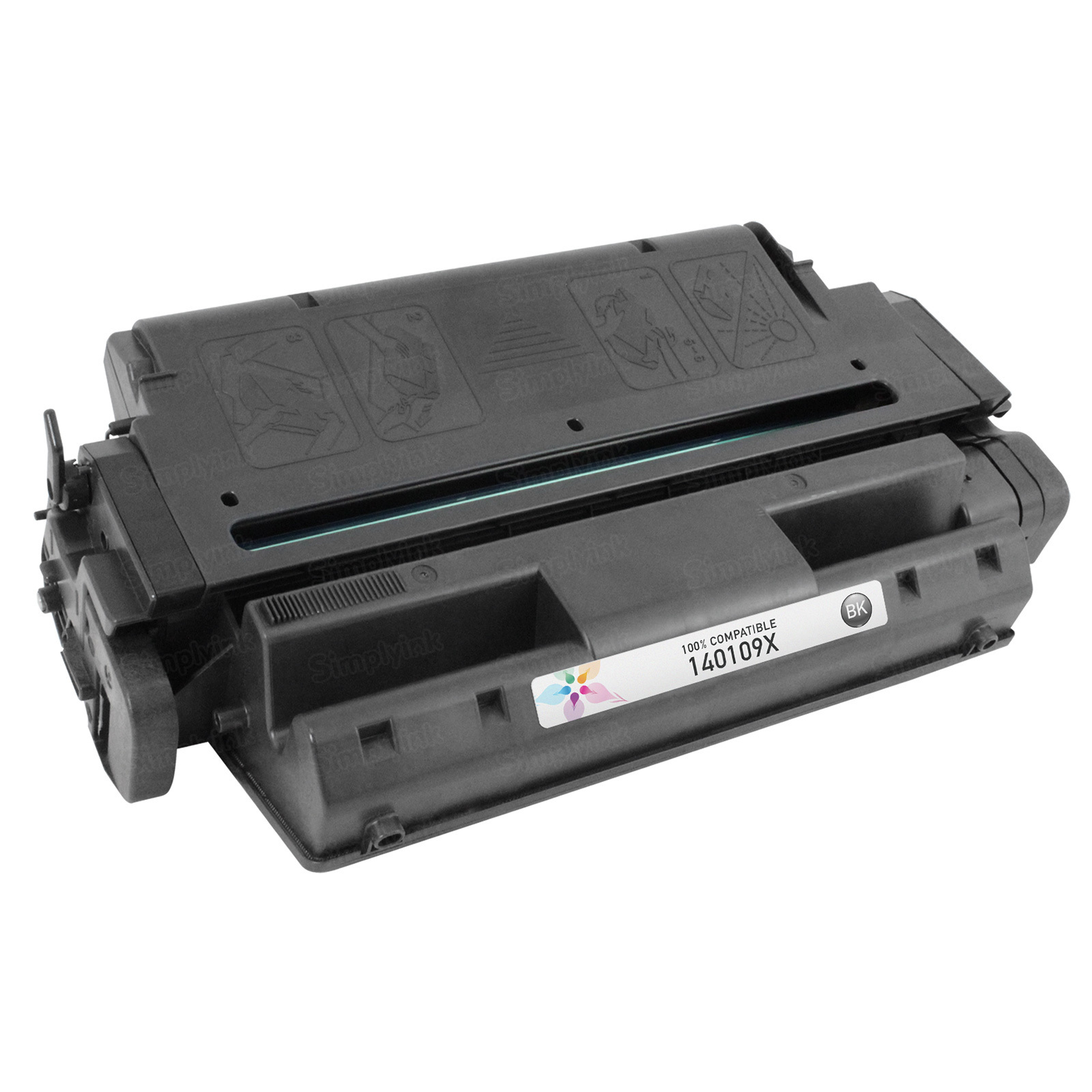 Remanufactured 140109X Black Toner for Lexmark