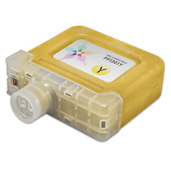 Canon Compatible PFI-301Y Yellow Ink