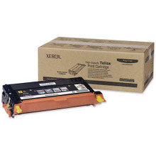 Xerox 113R00725 (113R725) High Yield Yellow OEM Laser Toner Cartridge