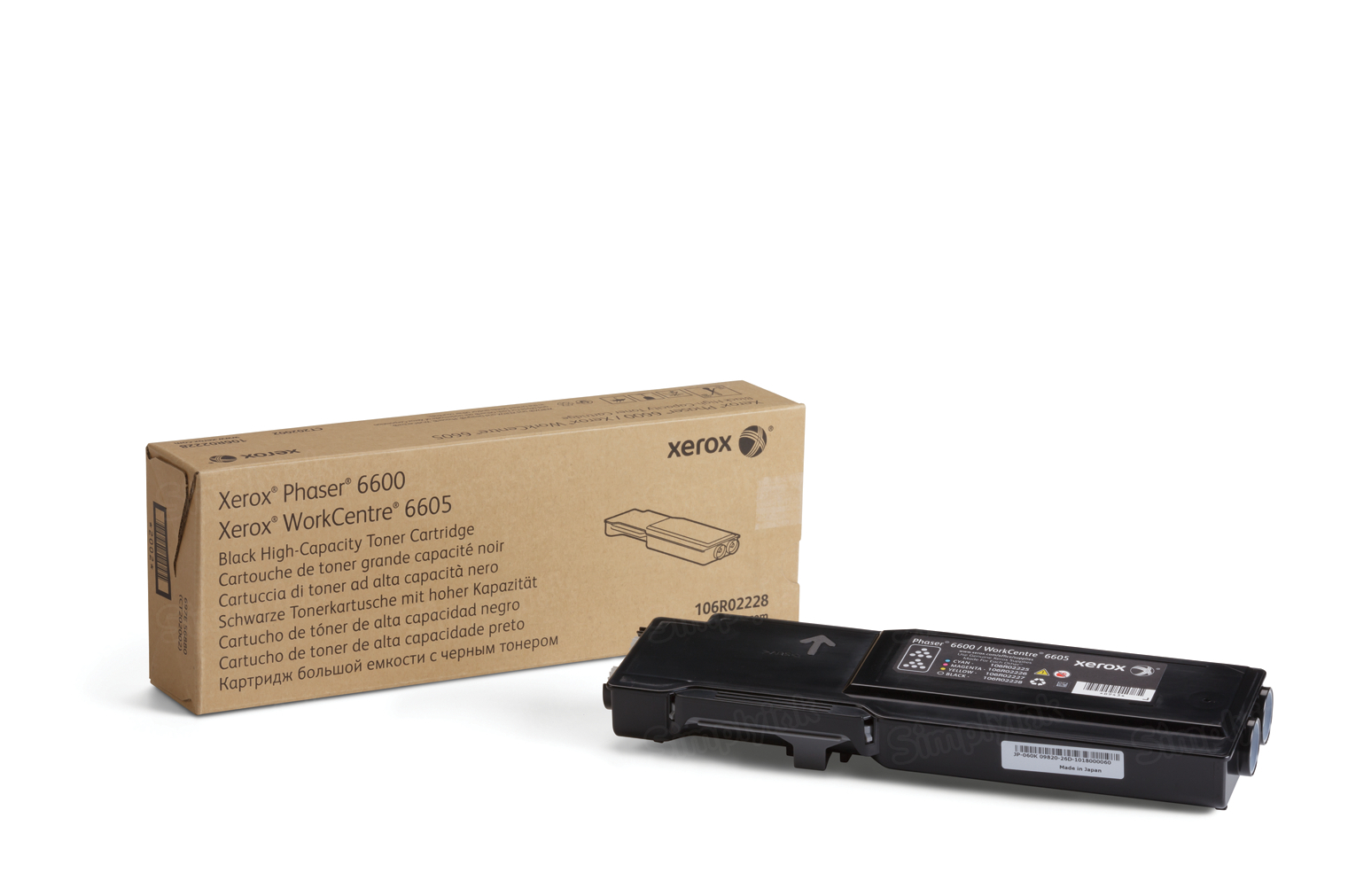Xerox 106R02228 (106R2228) HY Black OEM Toner Cartridge