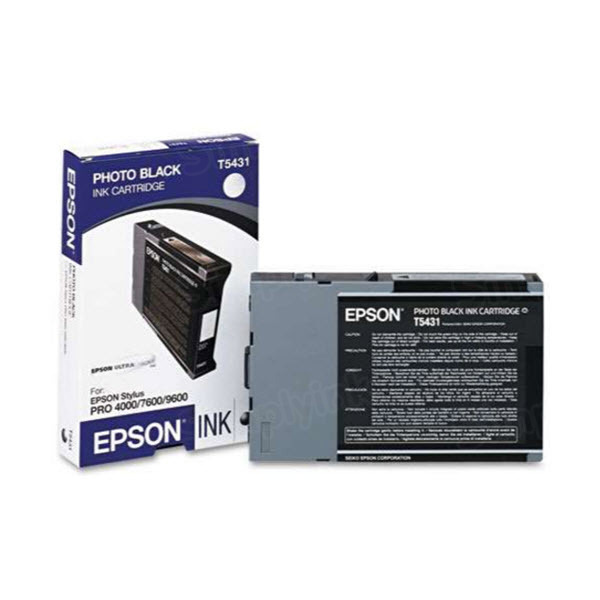 Epson T543100 Photo Black OEM Ink Cartridge
