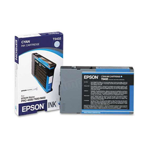 Epson T543200 Cyan OEM Ink Cartridge