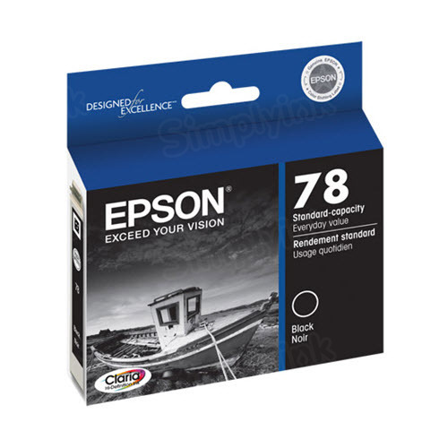 Epson 78 Black OEM Ink Cartridge (T078120)