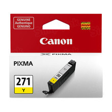 Canon 0393C001 (CLI-271) Yellow Ink Cartridge, OEM