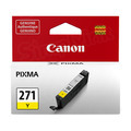 Canon CLI-271 Yellow Ink Cartridge, OEM