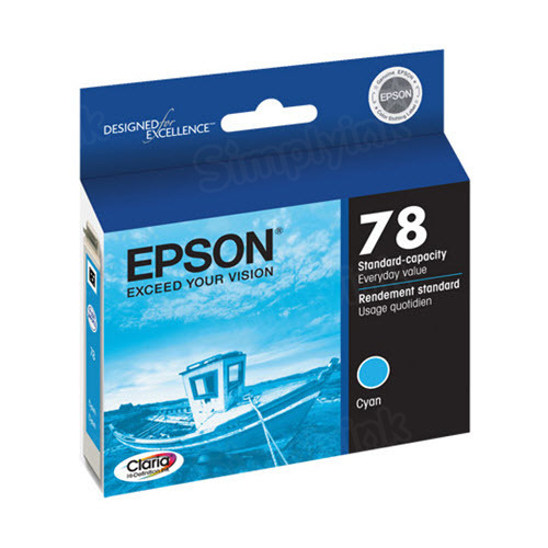 Epson 78 Cyan OEM Ink Cartridge (T078220)