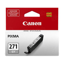 Canon 0394C001 (CLI-271) Gray Ink Cartridge, OEM
