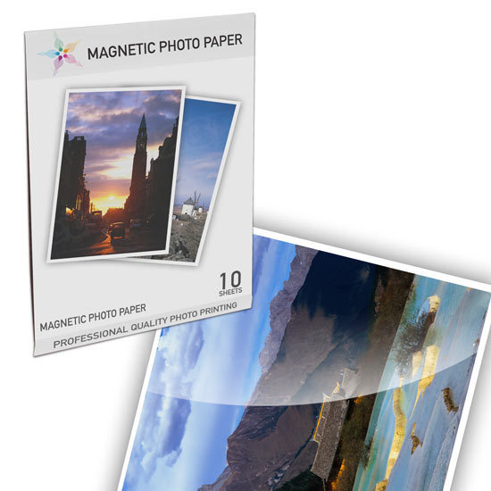 10 Sheet Glossy Magnetic Photo Paper