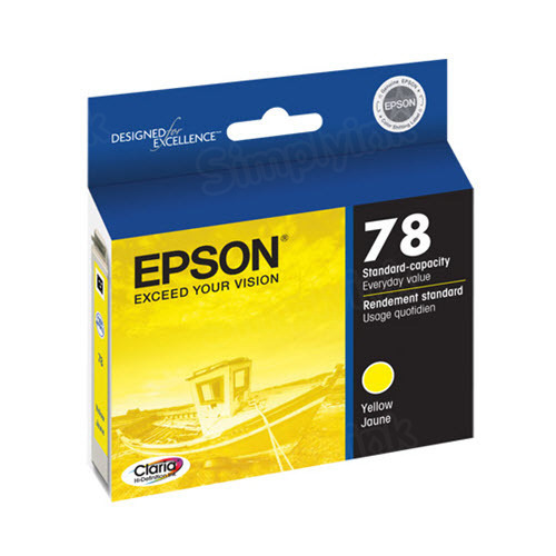 Epson 78 Yellow OEM Ink Cartridge (T078420)