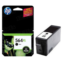 Genuine HP 564XL Black Ink Cartridge in Retail Packaging (CN684WN) High-Yield