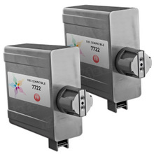 Compatible Replacement for Pitney Bowes 772-2 Black Ink Cartridge Twin Pack for the Infinity DM16K, DM22K & DM22KR