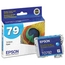 Original Epson 79 Cyan Inkjet Cartridge (T079220), High-Capacity