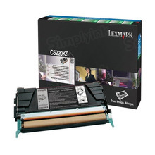 Lexmark OEM Black Return Program Laser Toner Cartridge, C5220KS (C520/C530 Series) (4K Page Yield)
