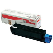 Original Black Laser Toner Cartridge (3K Yield) for Okidata 45807101 Laser Printer