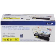 OEM Brother TN436Y Super High Yield Yellow Laser Toner Cartridge