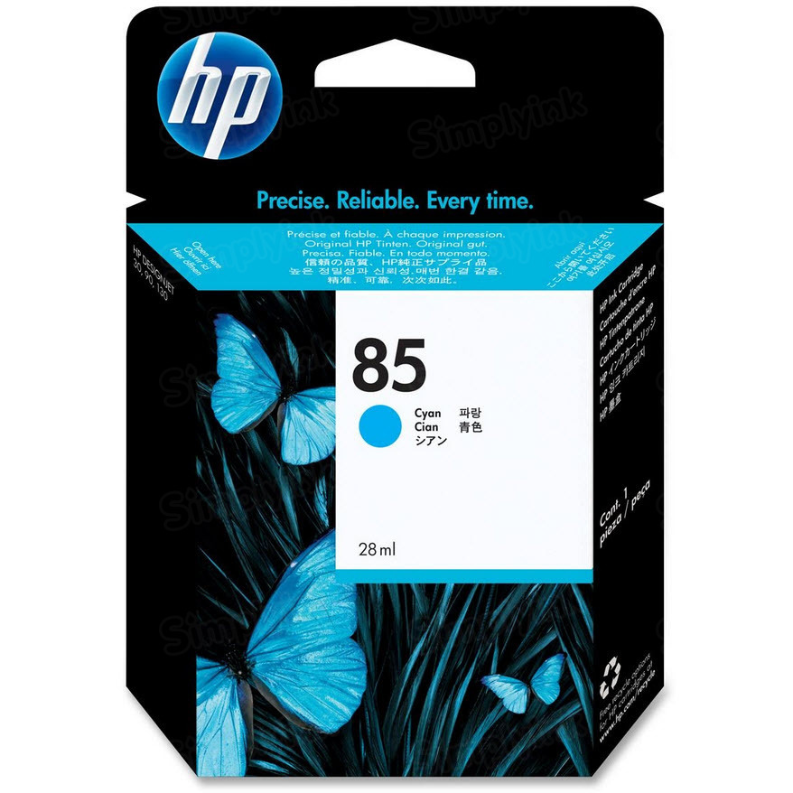 HP 85 Cyan Original Ink Cartridge C9425A