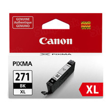 Canon 0336C001 (CLI-271XL) Black High Yield Ink Cartridge, OEM