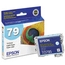 Original Epson 79 Light Cyan Inkjet Cartridge (T079520), High-Capacity