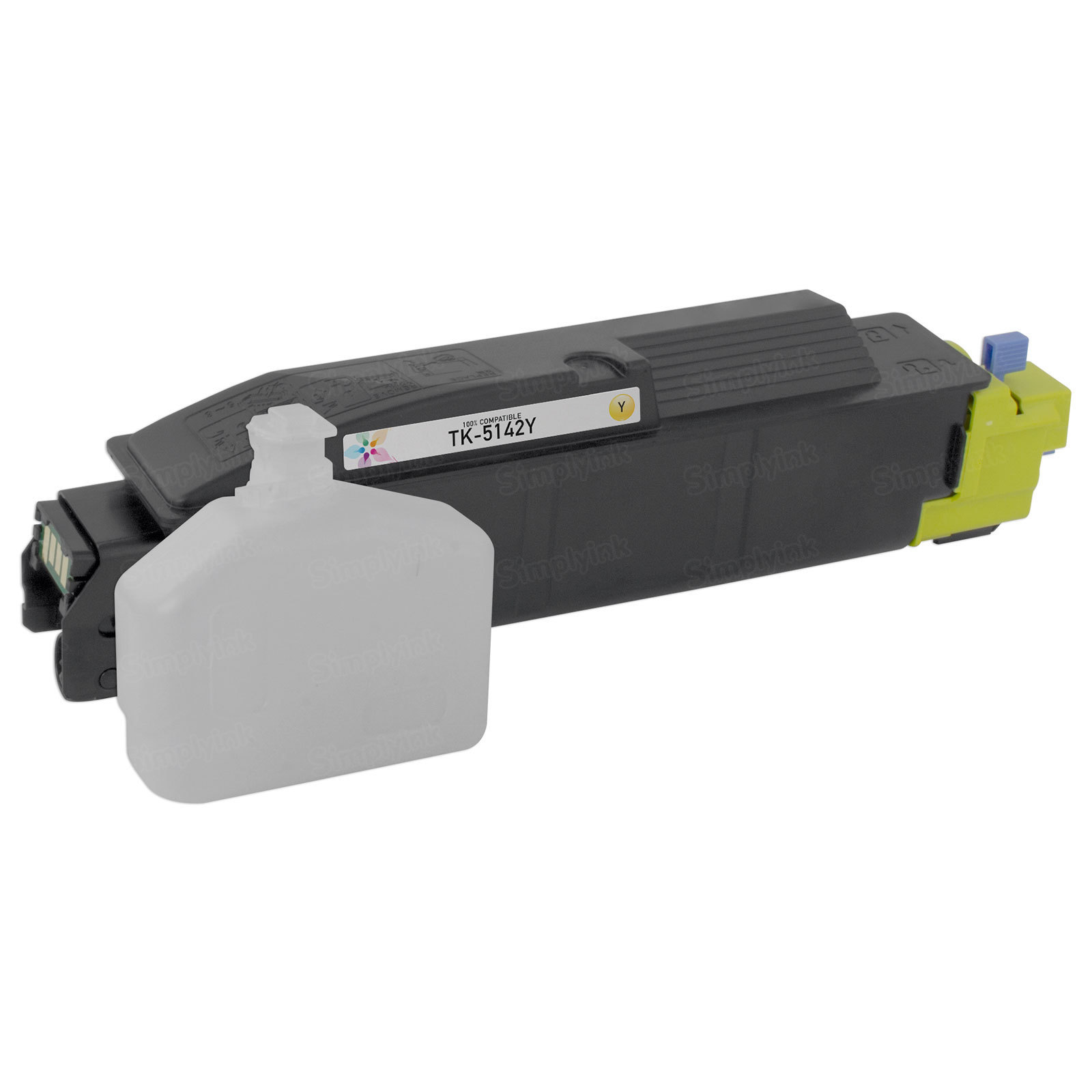 Compatible TK-5142Y Yellow Toner