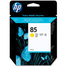 Original HP 85 Yellow Ink Cartridge in Retail Packaging (C9427A)