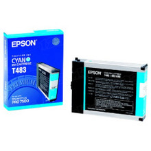Original Epson T463011 Cyan Inkjet Cartridge (T463)