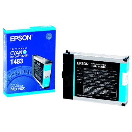 Epson T463011 Cyan OEM Ink Cartridge