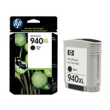 Original HP 940XL Black Ink Cartridge in Retail Packaging (C4906AN) High-Yield