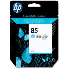 Original HP 85 Light Cyan Ink Cartridge in Retail Packaging (C9428AOEM)