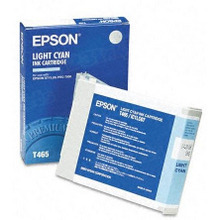 Original Epson T465011 Light Cyan Inkjet Cartridge (T465)