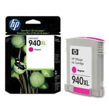 Original HP 940XL Magenta Ink Cartridge in Retail Packaging (C4908AN) High-Yield