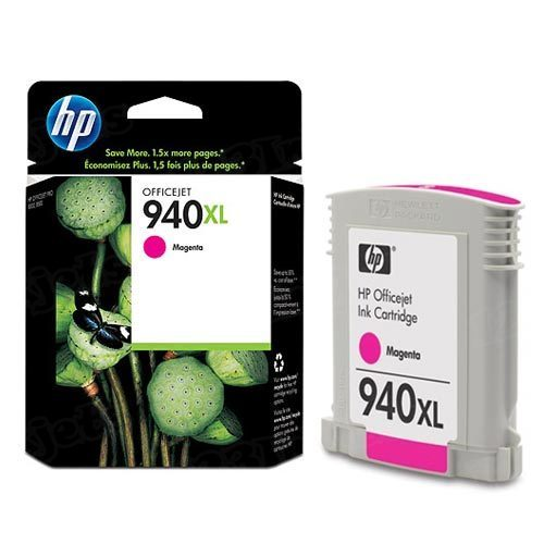HP 940XL Magenta Original Ink Cartridge C4908AN