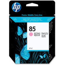 Original HP 85 Light Magenta Ink Cartridge in Retail Packaging (C9429A)