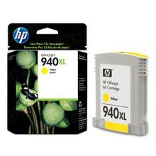 Original HP 940XL Yellow Ink Cartridge in Retail Packaging (C4909AN) High-Yield