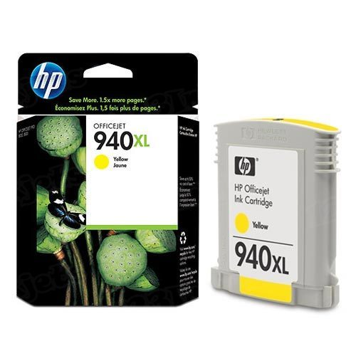 HP 940XL Yellow Original Ink Cartridge C4909AN