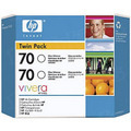 HP 70 Gloss Original Ink Cartridge 2PK CB350A