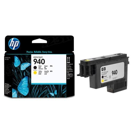 HP 940 Black and Yellow Original Printhead C4900A